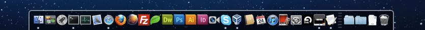 2D Dock in MacOSX
